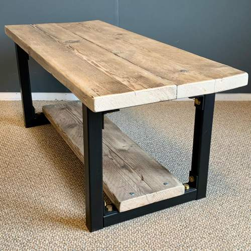 Upcycled Scaffold Board Coffee Table image-3