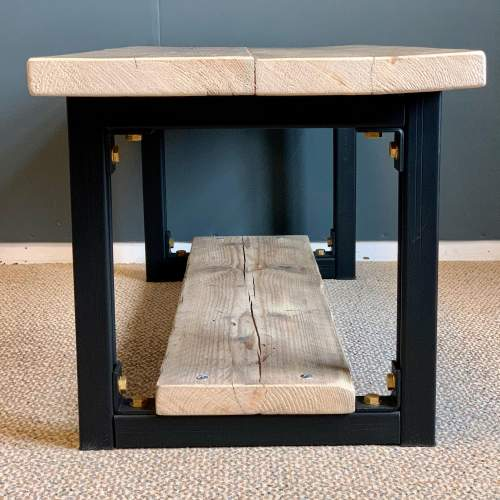 Upcycled Scaffold Board Coffee Table image-4