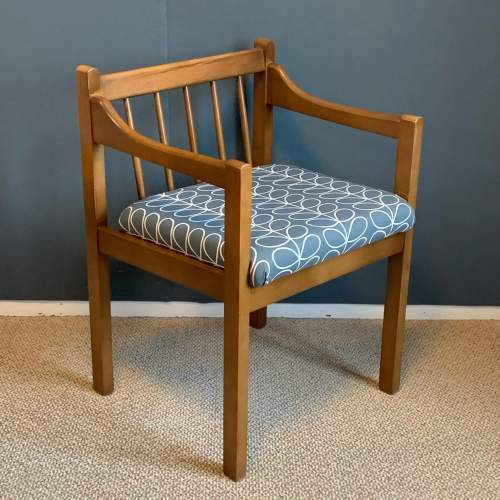 Mid 20th Century Teak Bench and Two Chairs image-4