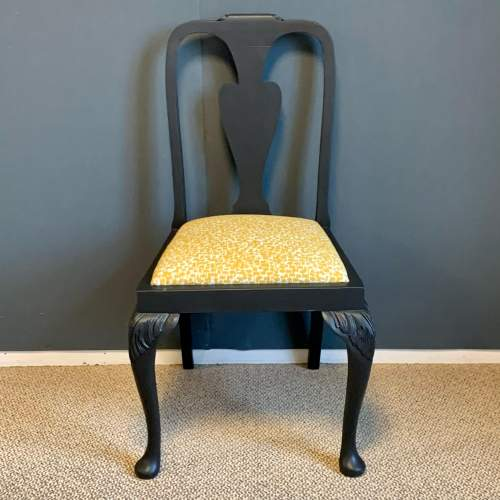 Painted Cabriole Leg Chair image-2