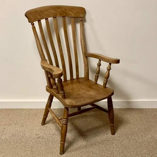 Victorian Farmhouse Slatback Windsor Chair image-1