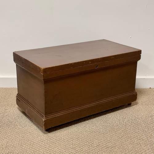 Victorian Pine Blanket Box image-1
