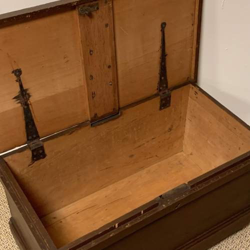 Victorian Pine Blanket Box image-3