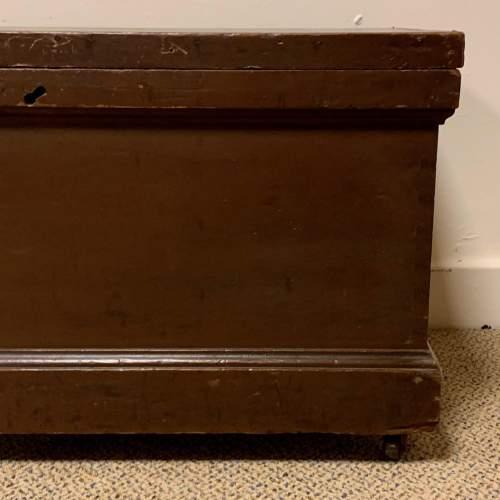 Victorian Pine Blanket Box image-4