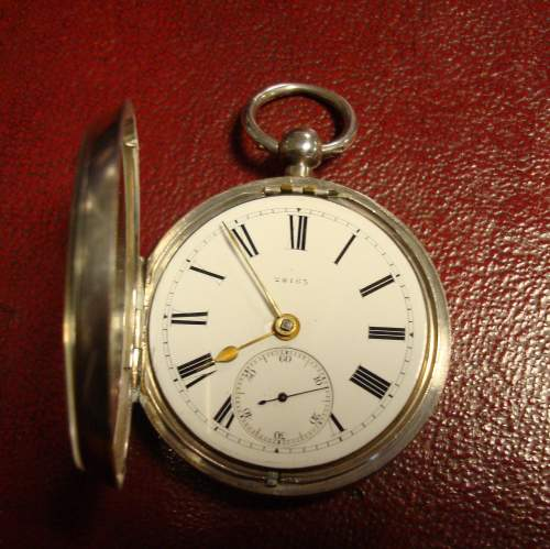 Silver Fusee Pocket Watch image-1