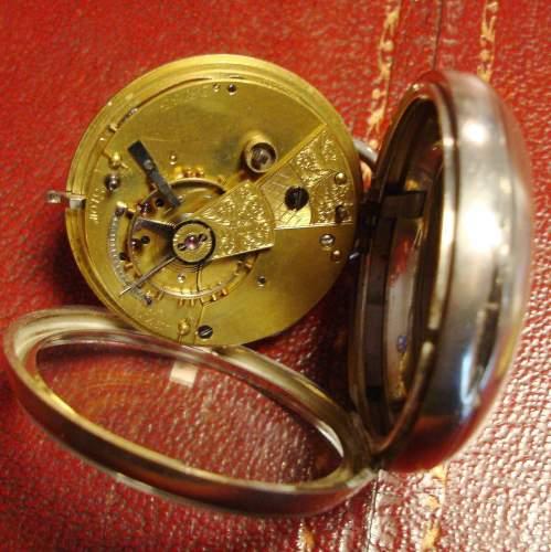 Silver Fusee Pocket Watch image-5