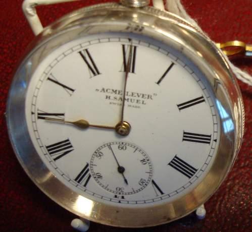 Swiss Silver Pocket Watch image-1
