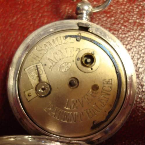 Swiss Silver Pocket Watch image-2