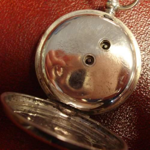 Swiss Silver Pocket Watch image-3