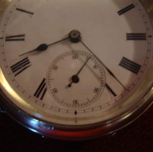 Silver Pocket Watch with Swiss Movement image-2