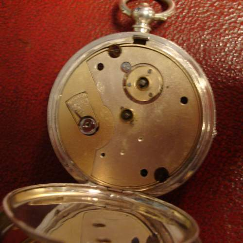 Silver Pocket Watch with Swiss Movement image-3