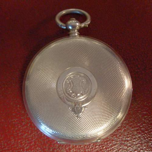Silver Pocket Watch with Swiss Movement image-4