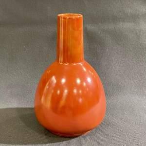 Ruskin Pottery Mallet Vase
