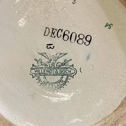 Villeroy and Boch Mettlach Art Nouveau Pottery Vase image-6
