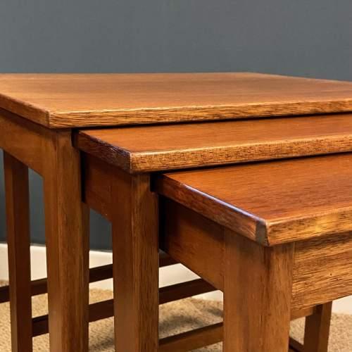 1970s Nest of Three Teak Tables image-2