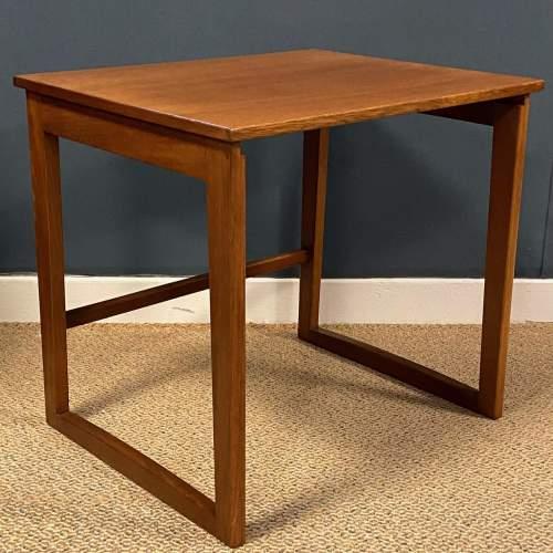 1970s Nest of Three Teak Tables image-4