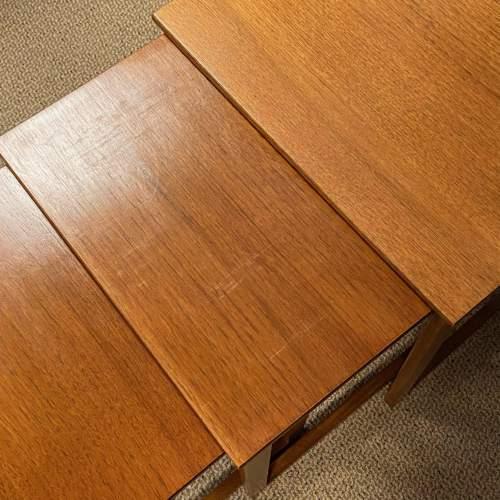 1970s Nest of Three Teak Tables image-3