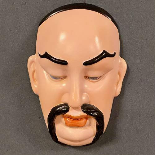 1930s Beswick Genie Face Wall Plaque image-1