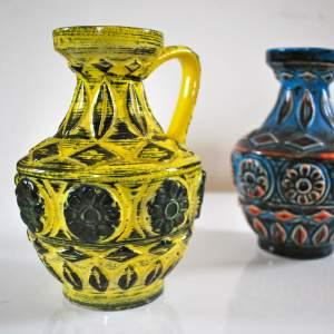 Bay Keramik West German Pottery Vases