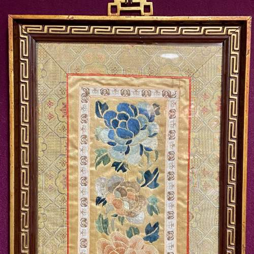 Framed Chinese Embroidery image-2