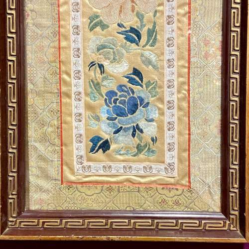 Framed Chinese Embroidery image-3