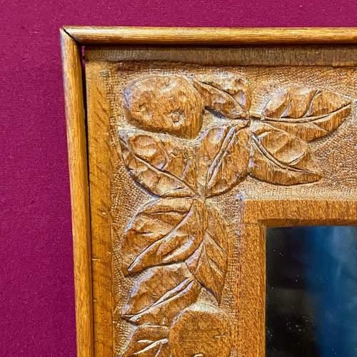Arts and Crafts Oak Framed Mirror image-2