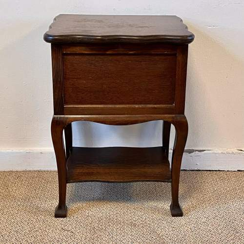 Vintage 20th Century Morco Sewing Box Table image-2
