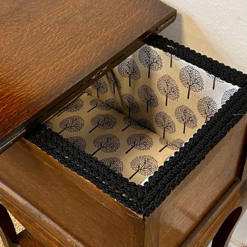 Vintage 20th Century Morco Sewing Box Table image-3