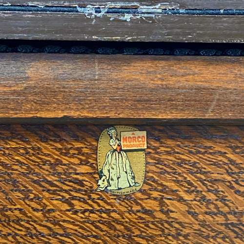 Vintage 20th Century Morco Sewing Box Table image-6