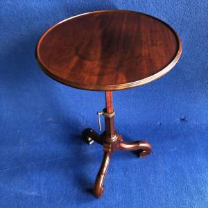 Victorian Mahogany Dish Top Table