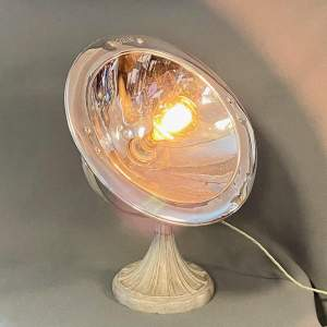 Upcycled Vintage Calor Heater Light