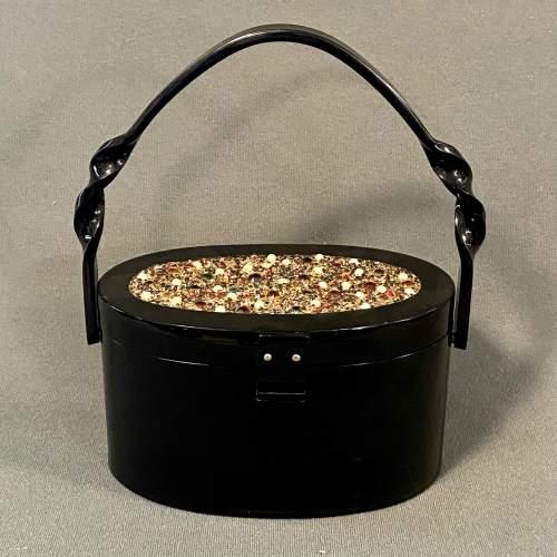 1950s Vintage Plastic Handbag image-1