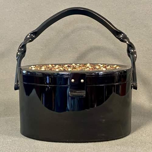 1950s Vintage Plastic Handbag image-2
