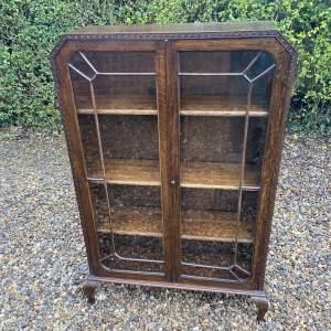 Oak Art Deco Bookcase