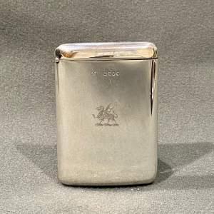 19th Century Sampson Mordan Silver Card Case