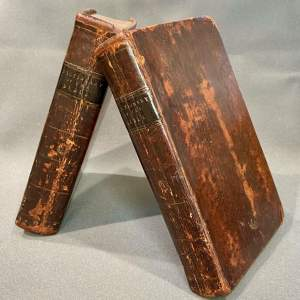Dictionary of The Bible by John Brown 1810 - Two Volumes