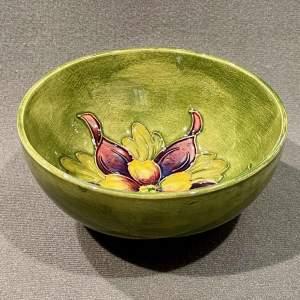 Moorcroft Orchid  Pattern Bowl