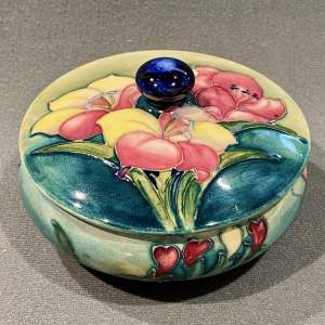 Moorcroft Freesia Lidded Pot