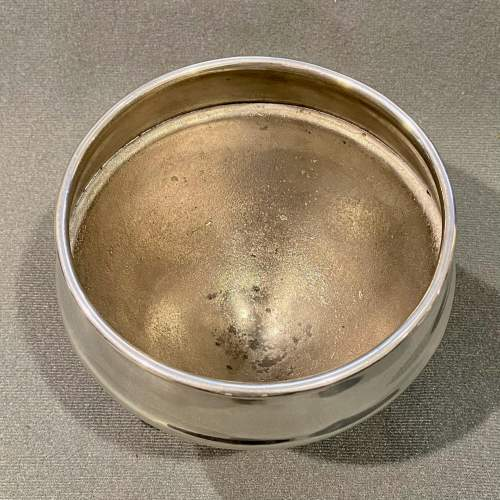 Liberty and Co Archibald Knox Pewter Flower Bowl image-4