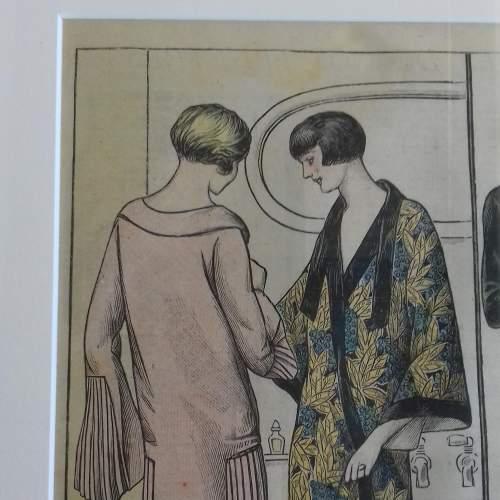 Original Left Centre Page of Le Petit Echo de la Mode 1926 image-3