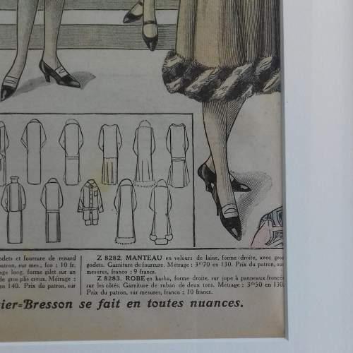Original Left Centre Page of Le Petit Echo de la Mode 1926 image-5