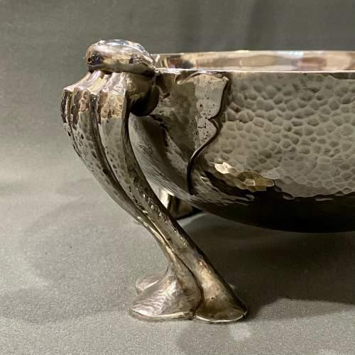 Liberty and Co Tudric Pewter Fruit Bowl image-2