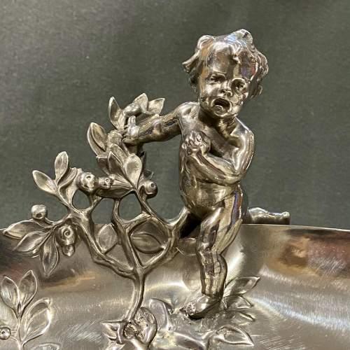 Art Nouveau WMF Pewter Fruit Stand image-3