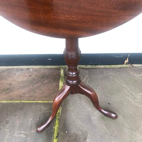 George III Mahogany Occasional Table image-2