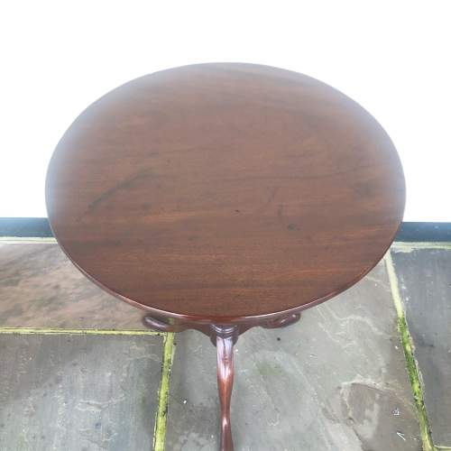 George III Mahogany Occasional Table image-3