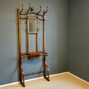 Early 20th Century Thonet style Hat and Coat Stand