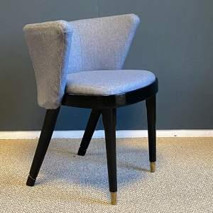 Retro Upholstered Bedroom Chair