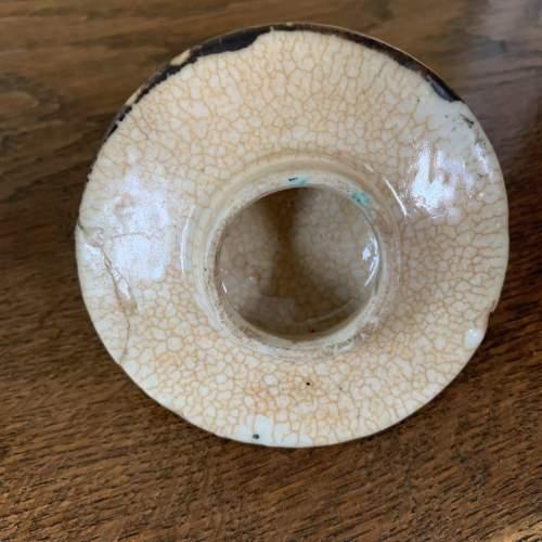 Chinese Crackle Glaze Lidded Vase image-5
