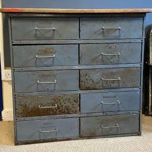 Vintage Metal Storage Cabinet