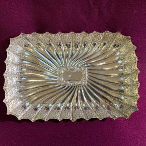 Late 19th Century Fenton Brothers Silver Dish